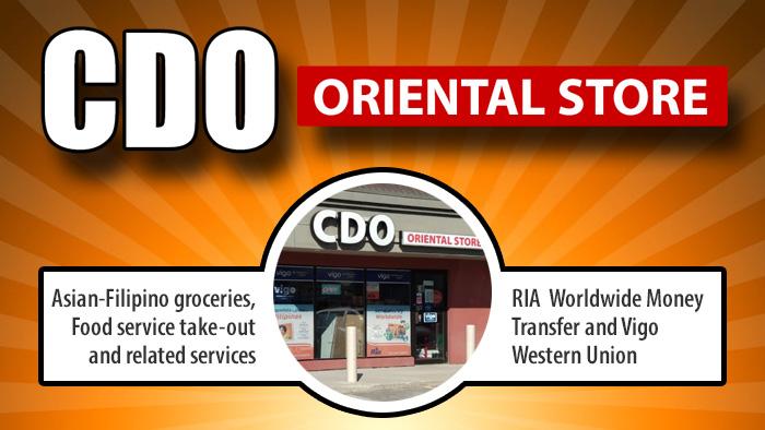 CDO Oriental Store
