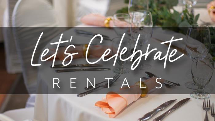 Let's Celebrate Rentals