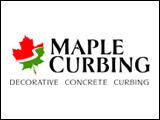 Maple Curbing