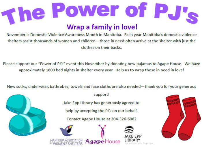 Agape House's The Power of PJs
