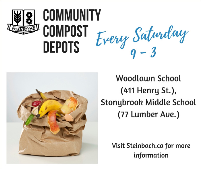 Steinbach Community Compost Depots