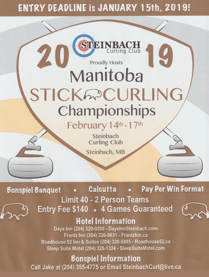 2019 Manitoba Stick Curling Championships