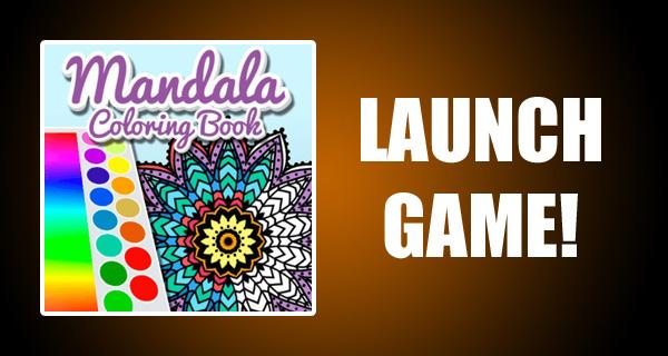 Mandala Coloring Book - Free Online Games