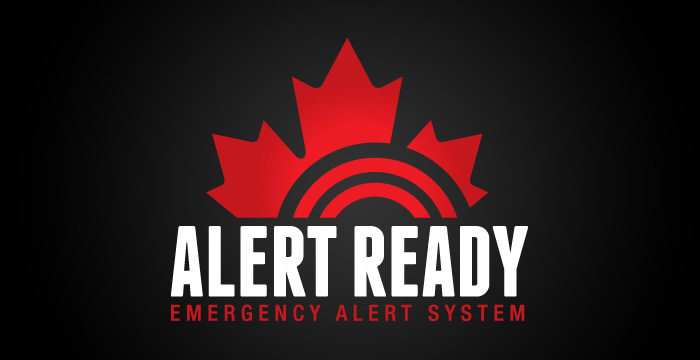 Wireless alert today (Wednesday) in BC at 1:55 pm