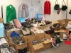 Counterfeit clothing, accessories, DVDs and CDs
