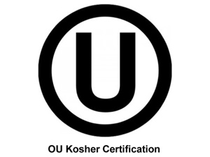 OU Kosher certified