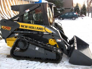 Skid-steer similar to unit stolen