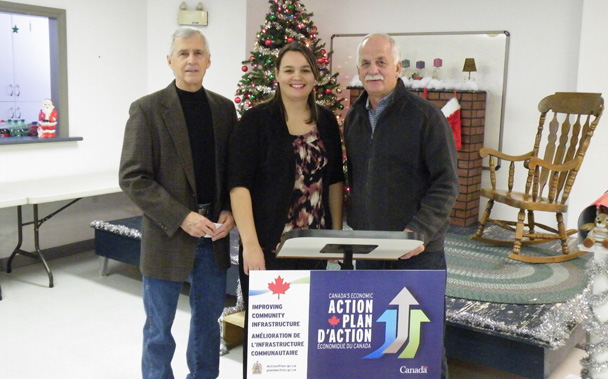 Jerry Magura, Tashia Lapeire and Vic Toews