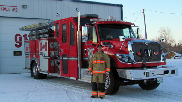 2012 International Pumper/Rescue truck