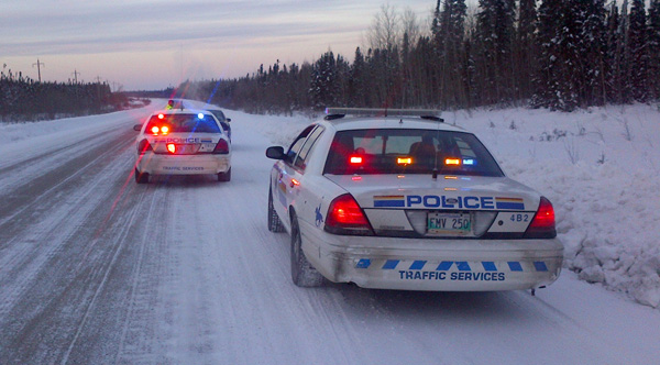 RCMP set up checkstops
