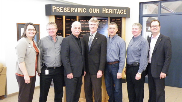 Support announced for the Mennonite Heritage Village