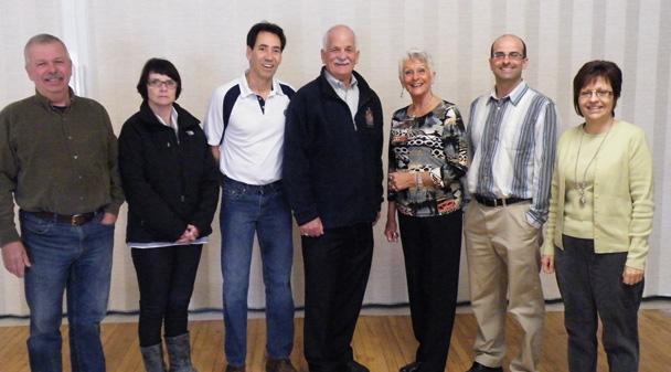 MP Vic Toews announces support for the Parc Sir Georges-Étienne Cartier Park