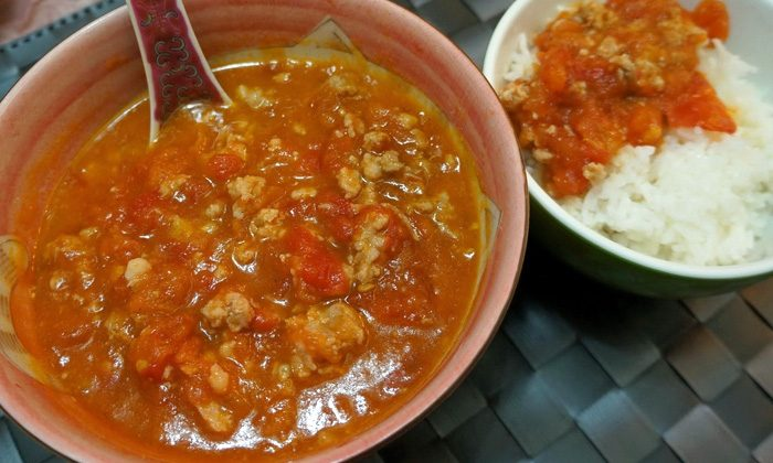 Chinese Pork and Tomatoes
