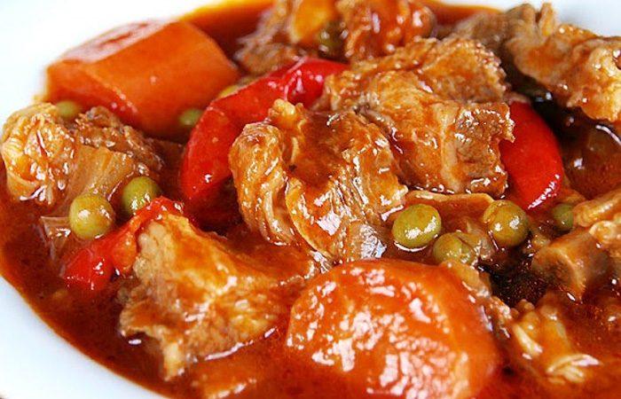 Pork Caldereta