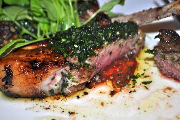 Salsa Lamb Chops