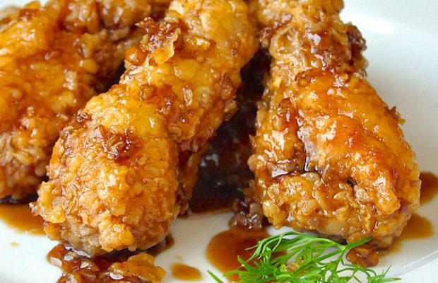 Sweet Honey Garlic Chicken